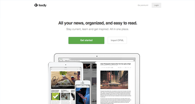 Feedly - Content Curation Websites Made Easy