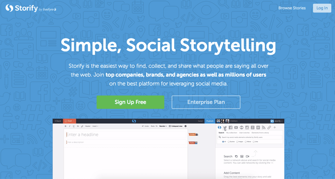 Storify - Content Curation Websites Made Easy
