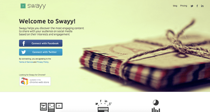 Swayy - Content Curation Websites Made Easy