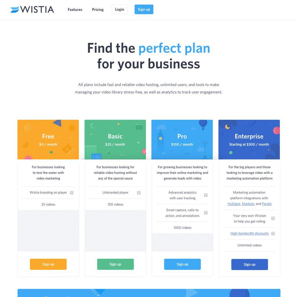 Wistia Landing Page2
