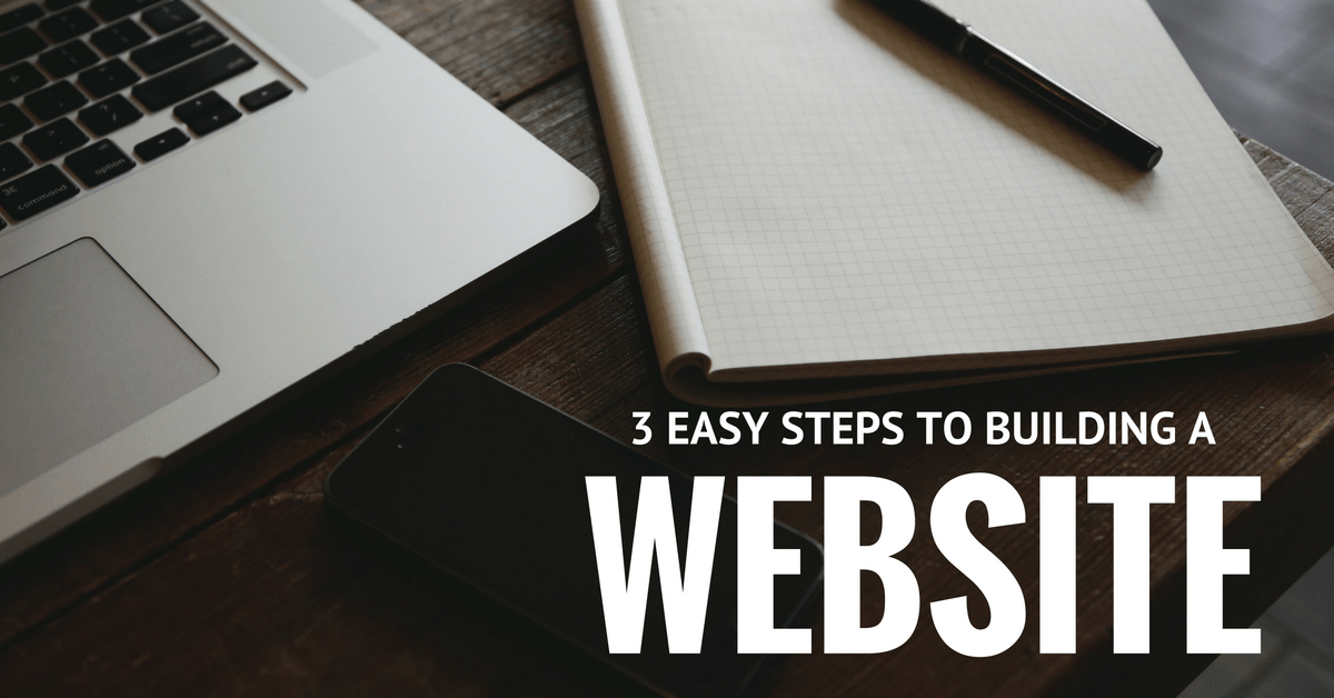 3 easy steps to building your first ever website Build easy website